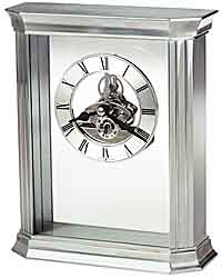 Howard Miller Rothbury 645-806 Aluminum Desk Clock