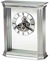 Howard Miller Rothbury 645-806 Aluminum Desk Clock