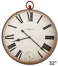 Howard Miller Pocket Watch II 625-647 Large Wall Clock