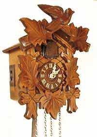 Sternreiter 40QM Mini Quartz Cuckoo Clock with Music