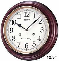 Seiko QXH202ZLH Parson Chiming Traditional Wall Clock