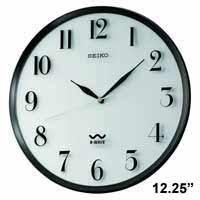 Seiko QXR131SLH Atomic Wall Clock