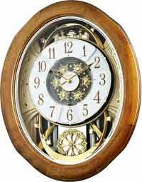Rhythm 4MH420WU06 Joyful Anthology Musical Wall Clock