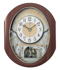 Rhythm 4MH439WU06 Palacio Magical Motion Clock