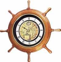 Rhythm 4MH817WD06 Voyager Classic Timecracker Clock