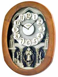 Rhythm 4MH847WD06 Joyful Encore Musical Clock