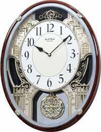 Rhythm 4MH865WD23 Chateau Musical Clock