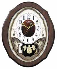 Rhythm 4MJ894WD06 Precious Angels Musical Clock