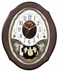 Rhythm 4MJ894WD06 Precious Angels Musical Clock
