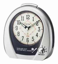 Rhythm 4RM759WD19 Baseball Alarm Clock