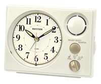 Rhythm 8RM402WU03 Morning Harmony Melody Alarm Clock