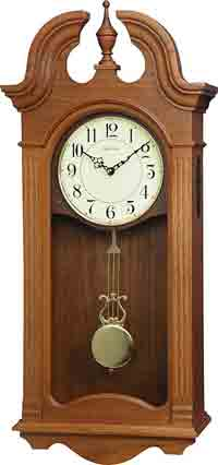 Rhythm CMJ587UR06 Jamesport Musical Wall Clock