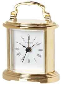 Seiko QHE109GLH-X Carriage Clock