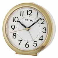 Seiko QHE146G Petite Nightstand Alarm Clock