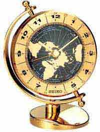 Seiko QHG106GLH World Time Clock