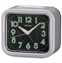 Seiko QHK023SLH Quiet-Sweep Bell Alarm Clock