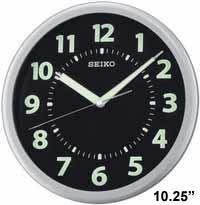 Seiko QXA435SLH Luminous Wall Clock