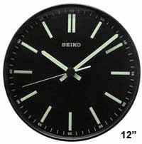 Seiko QXA521JLH Contemporary Luminous Wall Clock