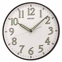 Seiko QXA521KLH Luminous Hands Wall Clock
