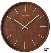 Seiko QXA765BLH Maddox Modern Wall Clock