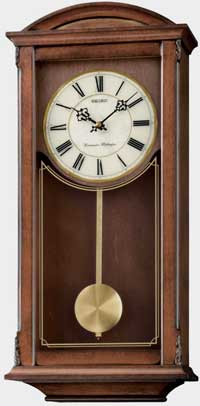 Seiko QXH030BLH Chiming Pendulum Wall Clock