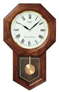 Seiko QXH102BC Schoolhouse Wall Clock