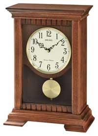 Seiko QXQ029BLH Chiming Mantel Clock