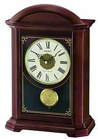 Seiko QXQ030BLH Garamond Chiming Mantel Clock