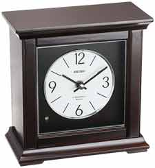 Seiko QXW245BLH Expresso Music and Chime Mantel Clock