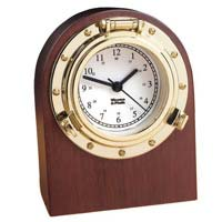 Weems and Plath 312400 Porthole Desk Clock