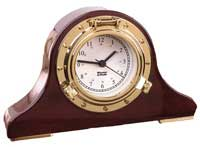 Weems and Plath 410500 Porthole Tambour Desk Clock