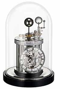 Hermle 22836-742987 AstroLabium Planetary Clock in Black