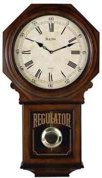 Seiko Qxh102bc Schoolhouse Wall Clock The Clock Depot