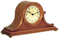 Hermle Augustine 21132-i9Q Oak Chiming Mantel Clock