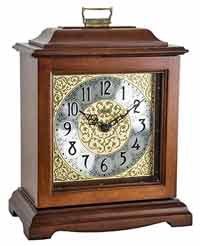Hermle 22518N9Q Austen Quartz Chiming Mantel Clock