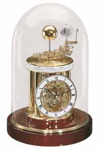 Hermle 22836-072987 AstroLabium Planetary Clock - Cherry