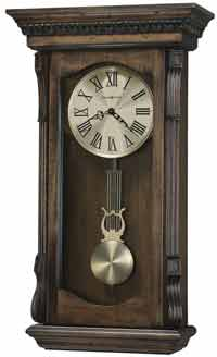 Howard Miller Agatha 625-578 Chiming Wall Clock