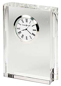 Howard Miller Scholastic 645-782 Crystal Book Clock