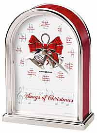 Howard Miller Songs of Christmas Clock 645-820
