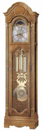 Howard Miller Bronson 611-019 Oak Grandfather Clock