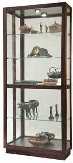 Howard Miller Jayden 680-575 Espresso Curio Cabinet