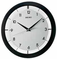 Seiko QXA520KLH Quiet-Sweep Wall Clock
