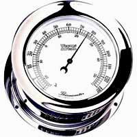 Weems and Plath Atlantis 221200 Chrome Thermometer