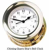 Weems and Plath 200100 Atlantis Quartz Ships Bell Clock