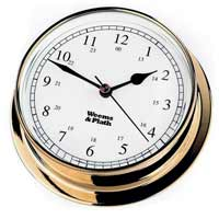 Weems and Plath 530500 Brass Endurance 125 Clock