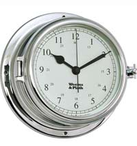 Weems and Plath 560500 Endurance II 135 Chrome Clock