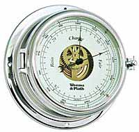 Weems and Plath 960733 Endurance II 135 Chrome Barometer