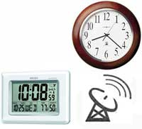 LCD Atomic Clocks and Analog Atomic Clocks