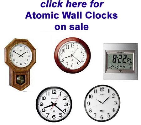 Seiko Atomic Clocks Seiko Qxr105wlh Atomic Clock At The
