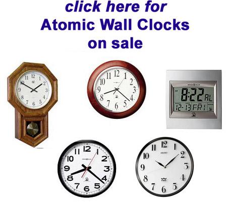 Seiko Atomic Clocks Seiko Qxr105wlh Atomic Clock At The